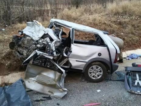 Acidente próximo a Salgueiro causou a morte de três pessoas da mesma família (Foto: divulgação)