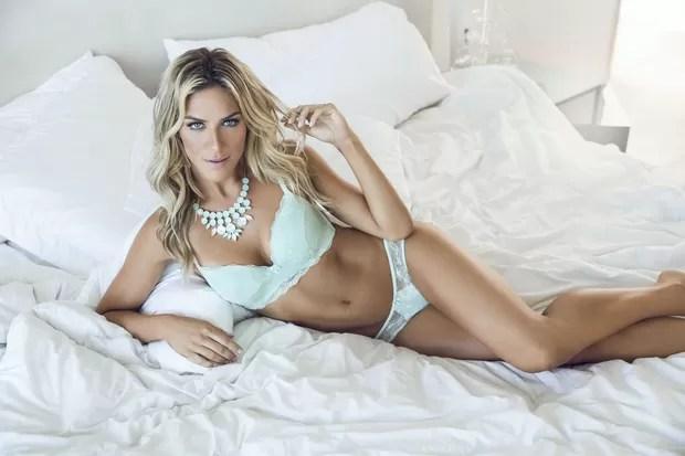 Giovanna Ewbank posa para marca de lingerie (Foto: Divulgação)