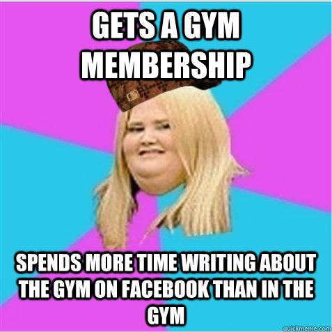 sweaty gym girls