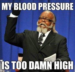 Image result for create blood pressure meme