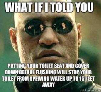 family human toilet captions