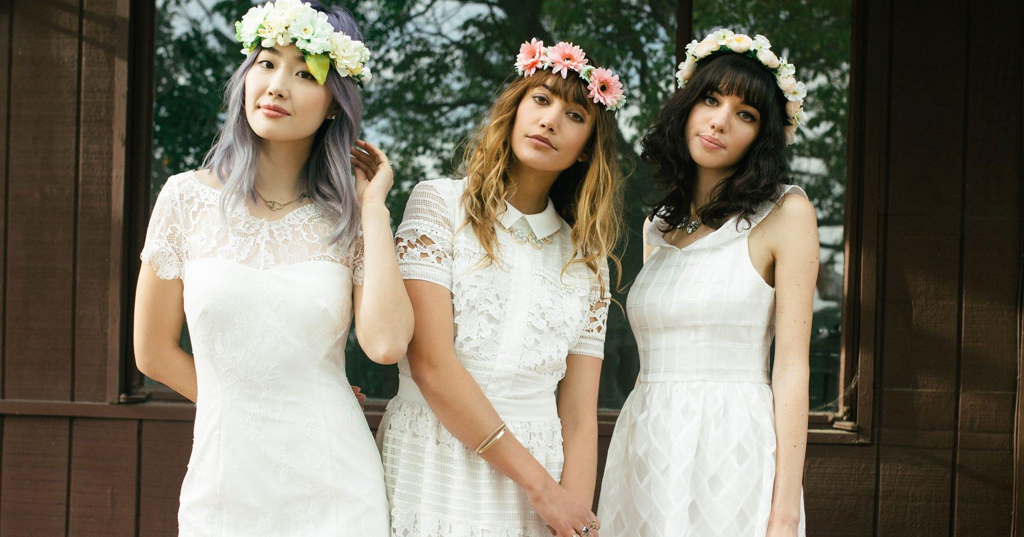 modcloth bridal modcloth wedding dresses
