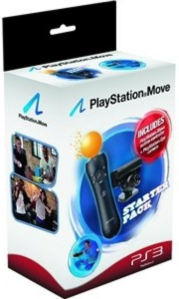 Playstation Move: Starter Pack (Includes Move Controller, Eye Camera) Games Accessories | Zavvi