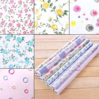 yazi Contact Paper Vinyl Self Adhesive Floral Wallpaper Drawer Liner Paper Roll   eBay