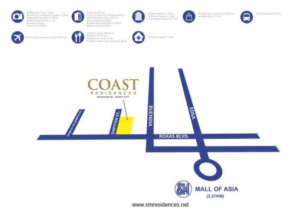 Coast Residences Location