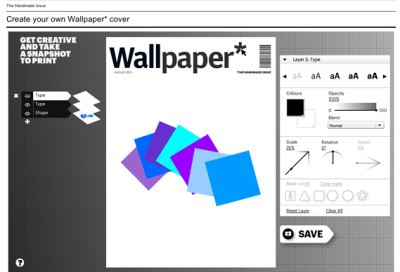 Design your own Wallpaper* cover – again - Creative Review