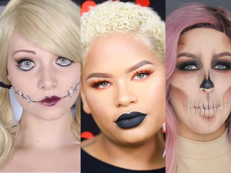 Halloween per ciompe: i 6 make-up pi� facili ed effetto per un look da urlo!