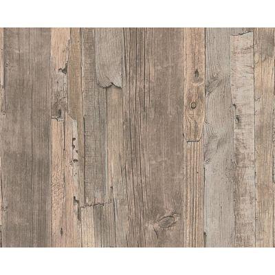 Realistic Wood Wallpaper Faux Wooden Effect Modern Realistic Panel Stripe Beam   eBay