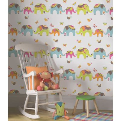 HOLDEN DECOR PLAYTIME COLLECTION KIDS WALLPAPER FOR BEDROOM, PLAYROOM, NURSERY | eBay