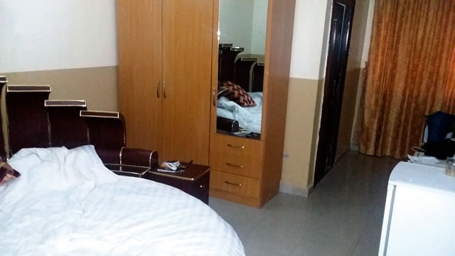 One of the least expensive rooms in the hotel