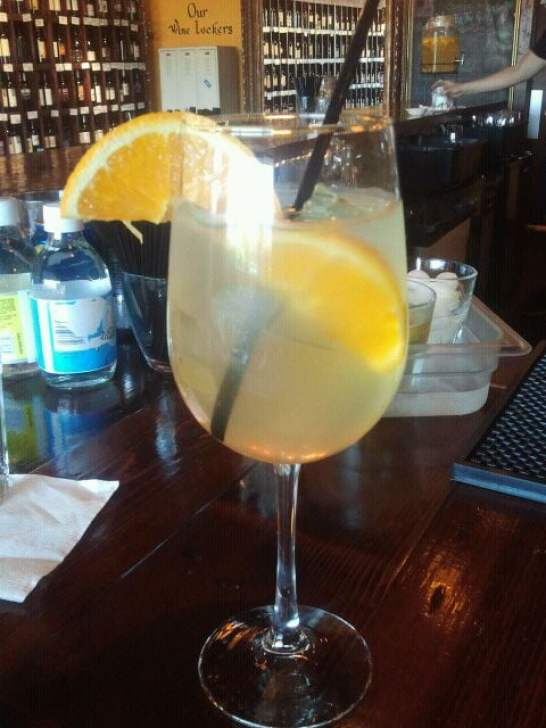 The Corkscrew - Houston, TX, United States. white wine sangria