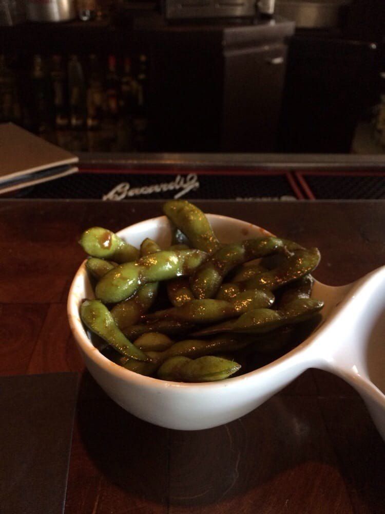 Takami Sushi & Robata Restaurant - Los Angeles, CA, United States. So yummy. Edamame