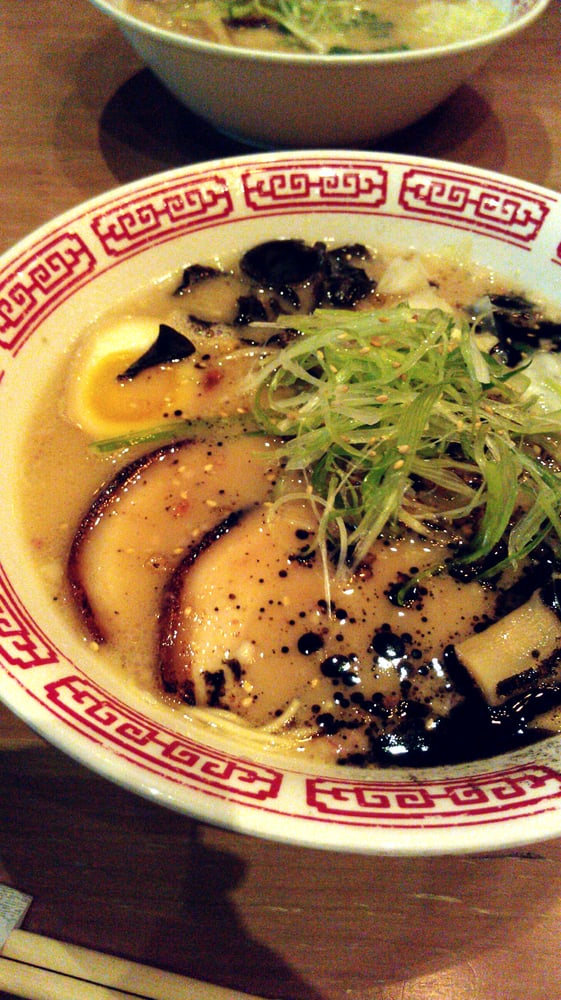 Tiger Den - Houston, TX, United States. Black bean garlic ramen.