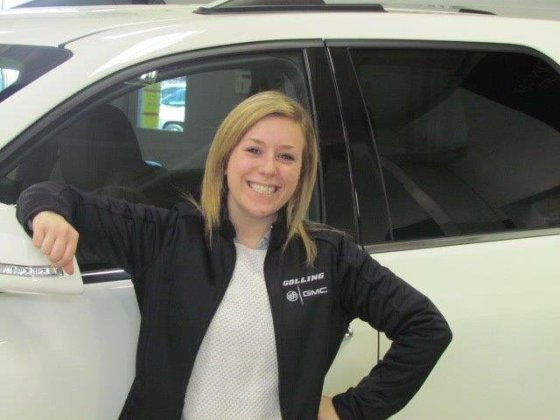 Sarah Flesch is ready to help you    Yelp Photo of Golling Buick GMC   Lake Orion  MI  United States  Sarah Flesch