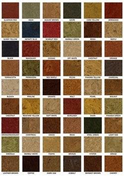 I Cork Flooring  Colors
