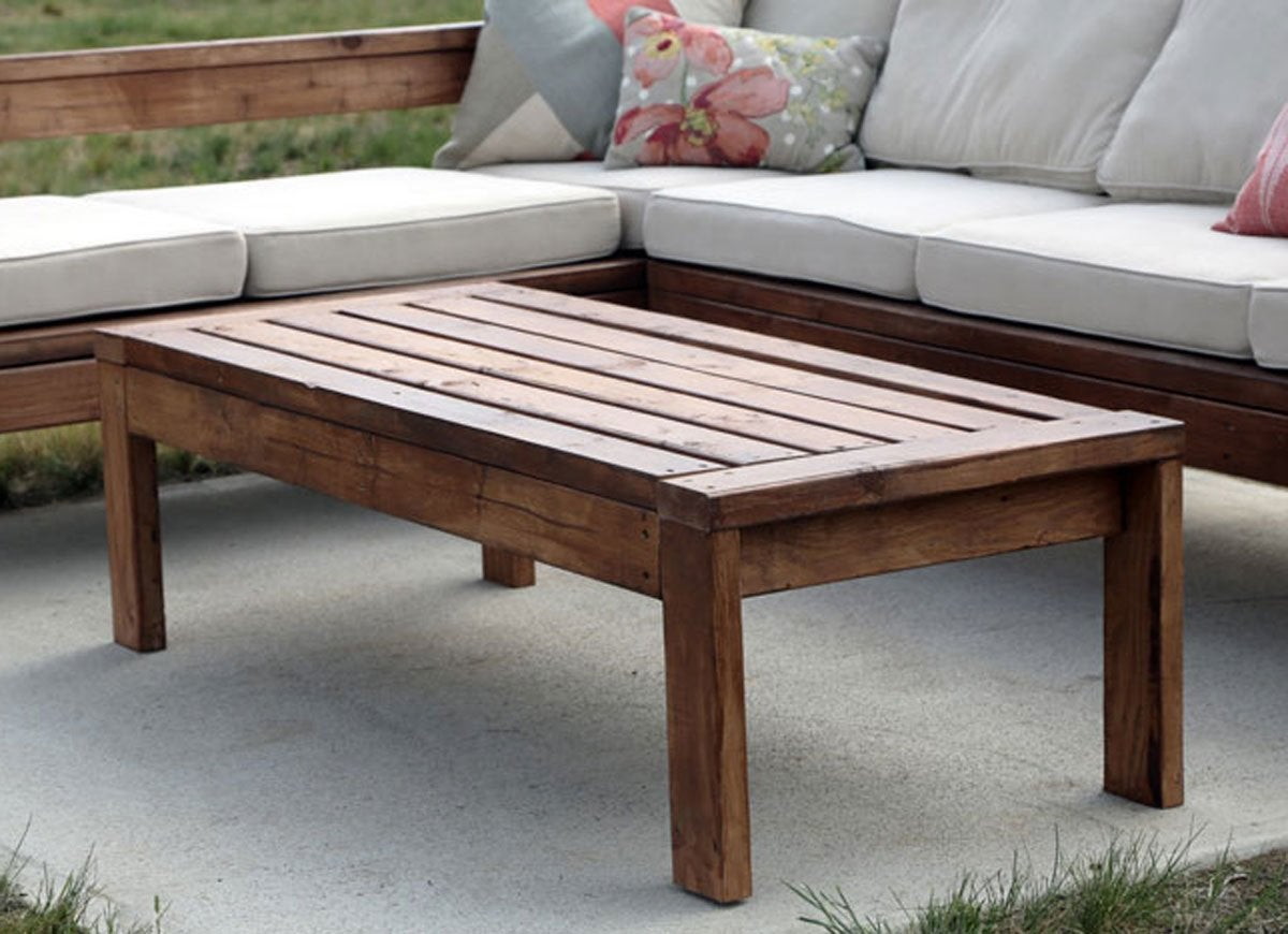 Serene Diy Outdoor Table Diy Patio Table Easy Ways To Make Your Own Bob Vila Outdoor Coffee Table Decor Outdoor Coffee Table Ikea houzz-03 Outdoor Coffee Table
