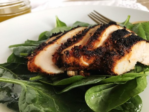 Exciting Blackened Ken Over Spinach Lemon Vinaigrette Blackened Ken Recipe Food Network Blackened Ken Recipe Cactus Club