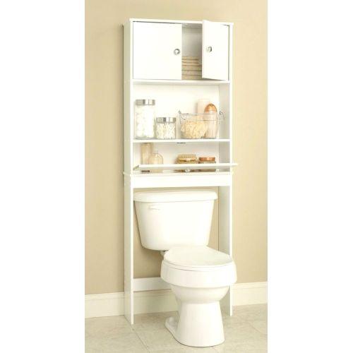 Medium Crop Of Bathroom Shelves Over Toilet