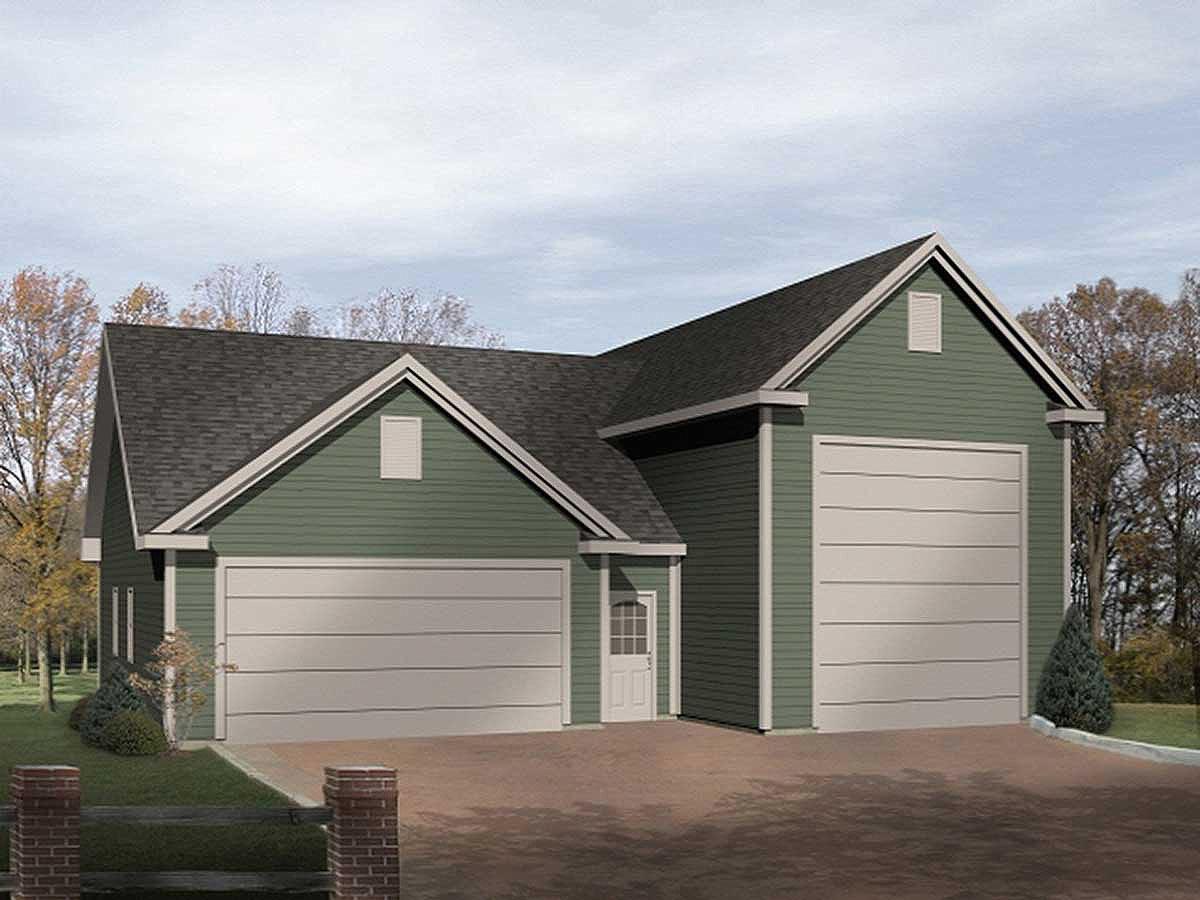 RV Garage Plan - 2238SL | Architectural Designs - House Plans
