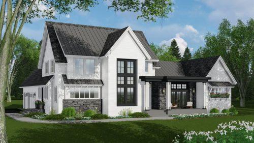Medium Of New Home Plans