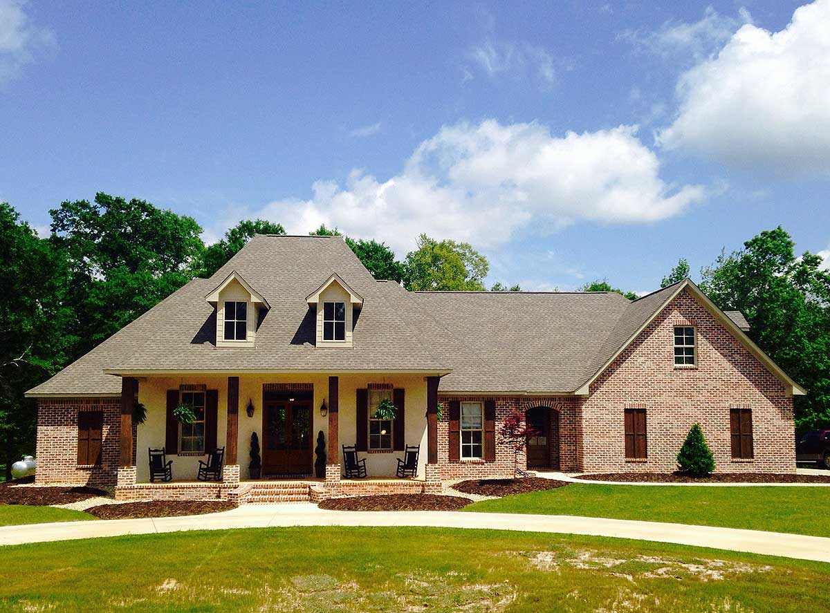 French Country Home Plan With Bonus Room - 56352SM | Architectural Designs - House Plans