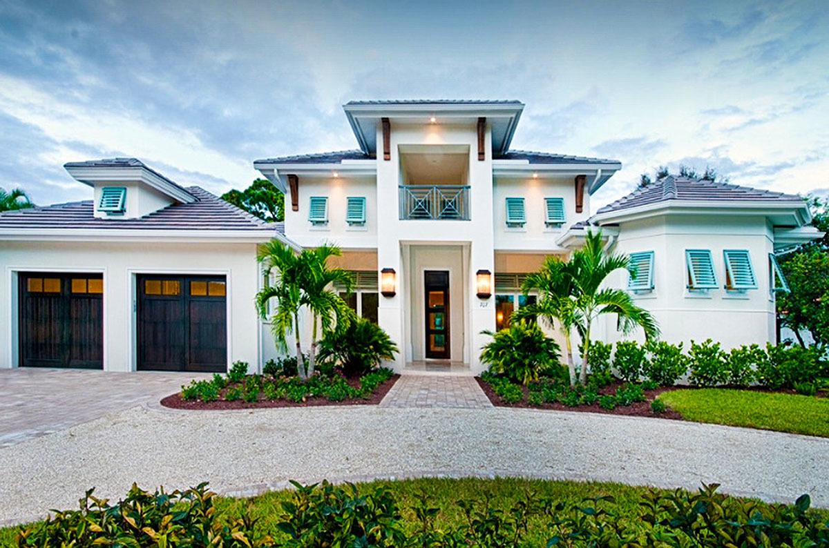 Florida House Plans - Architectural Designs