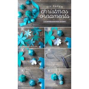 Indulging Diy Paper Ornaments Lia Griffith Paper Decorations Templates Paper Decorations Windows