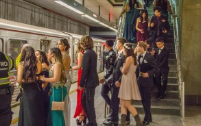 Metrolink prom subway