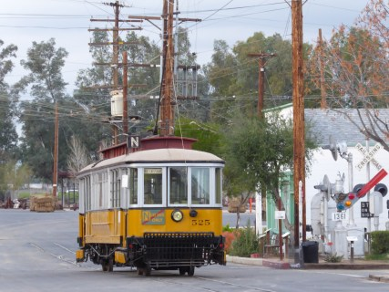 "LA Railway ""Yellow Car."""