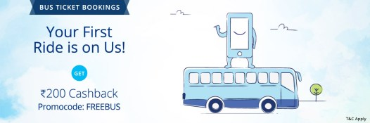 Bus Ticket Booking Paytm
