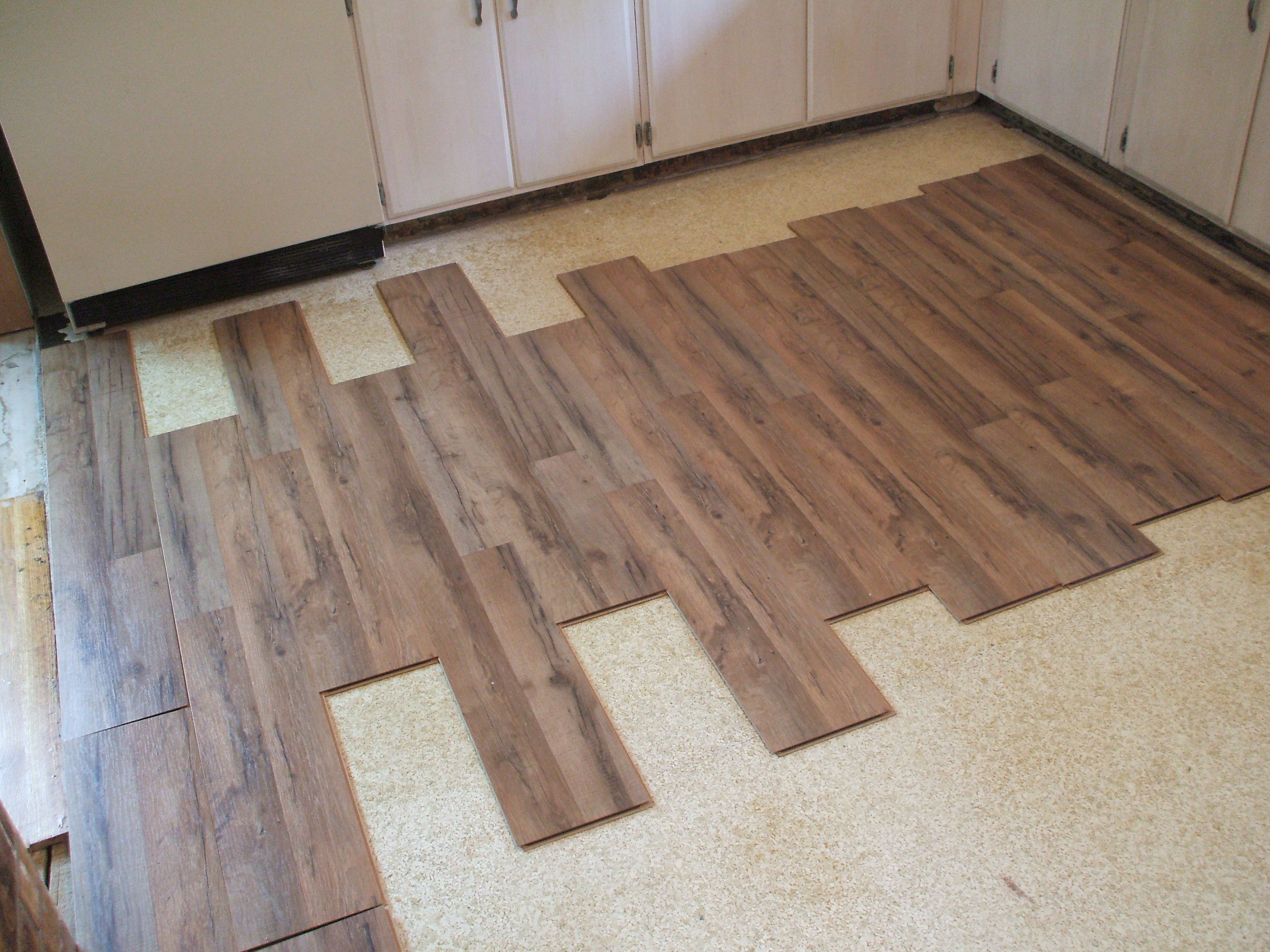 flooring options for your rental home kitchen laminate flooring