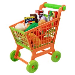 Small Of Toy Shopping Cart