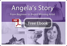 Angela - beginner to artist winner