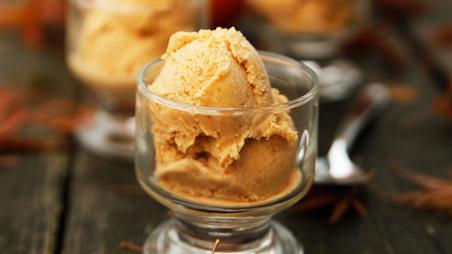 Vegan Pumpkin Spice Ice Cream