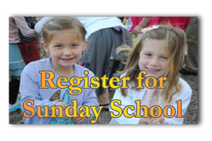 Register For Sunday School