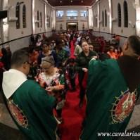 Bênçãos e imposições de escapulários de Nossa Senhora do Carmo
