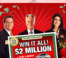 As if publishers have $2million to give away…
