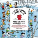 Charlie Brown Christmas Wrapping Paper & Activity Coloring Book Review