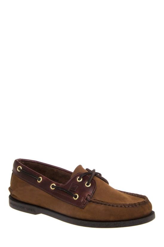 Sperry Top Sider Men s Authentic Original Boat Shoe – Brown Buck Brown 73d314bdd