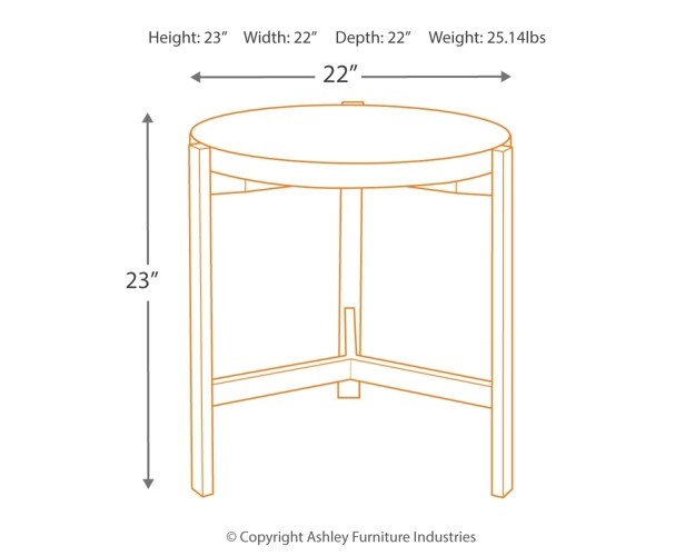 Large Of Round End Table