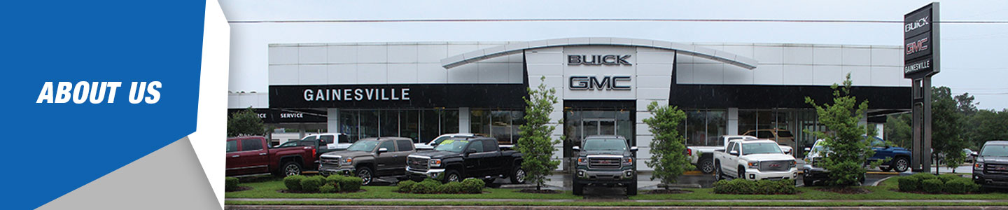 About Our Buick  GMC Dealer in Gainesville  FL   Gainesville Buick GMC About Our New   Used Dealership Serving Gainesville  Florida  Gainesville  GMC Buick