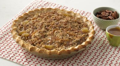 Extra Easy Caramel Apple Pie recipe from Betty Crocker