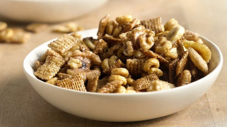 Paleo Banana Nut Bread Chex Party Mix