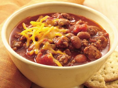 Slow-Cooker Family-Favorite Chili recipe from Betty Crocker