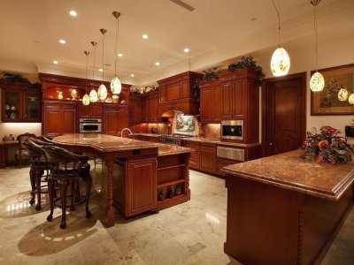 52 Dark Kitchens with Dark Wood OR Black Kitchen Cabinets (2019)