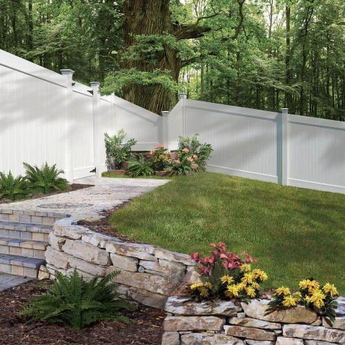 Medium Of Fenced Backyard Landscaping Ideas