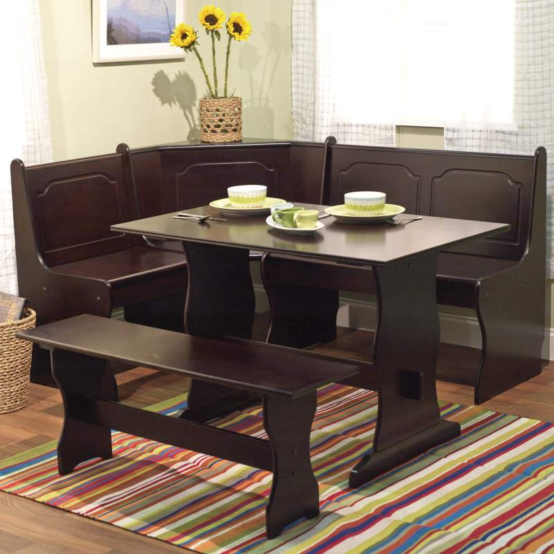 Large Of Bench Dining Table
