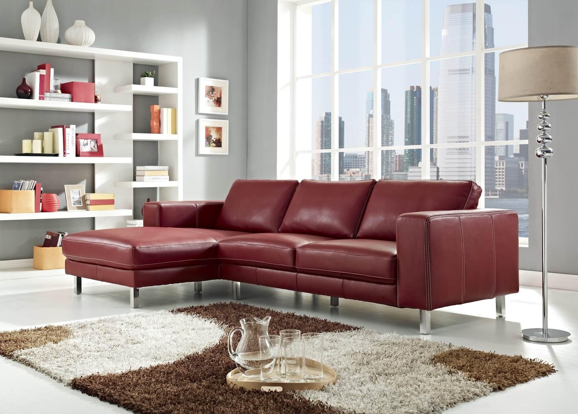 Fullsize Of Modern Leather Sofa
