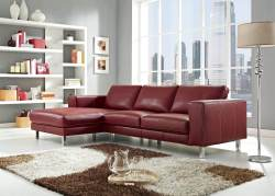 Small Of Modern Leather Sofa