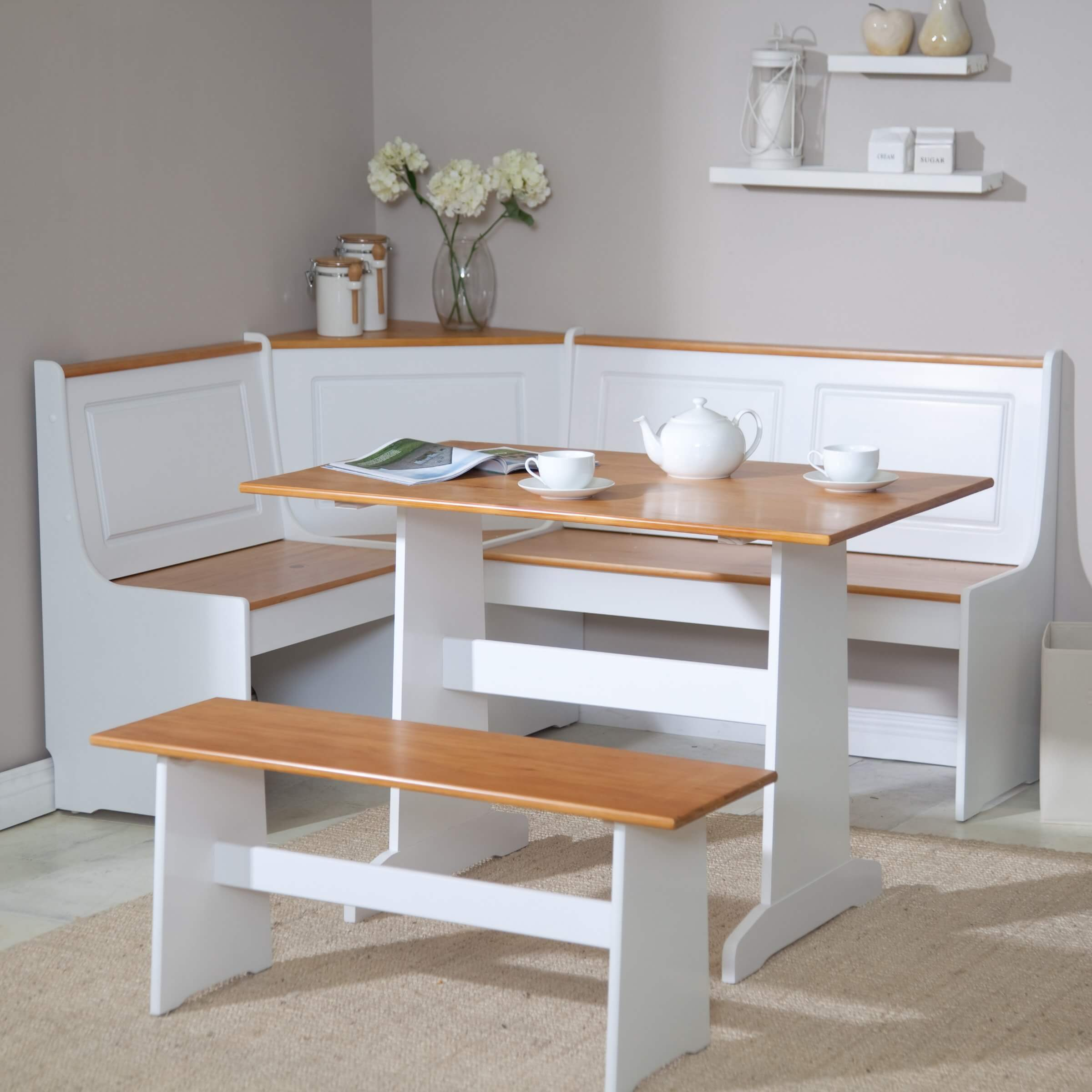 breakfast nook furniture sets kitchen tables sets Ardmore Breakfast Nook Set
